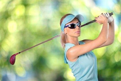 Fototapeta Golf, Kobiety, okulary.