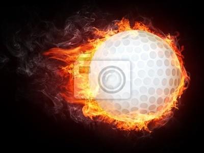 Fototapeta golf piłka