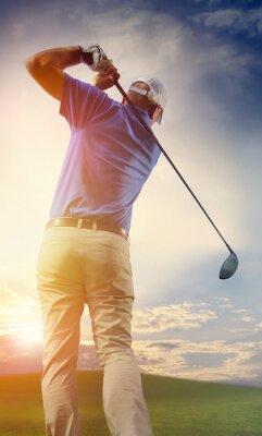 Fototapeta Golfista