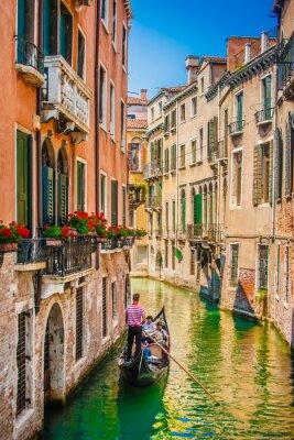 Fototapeta Gondola na Canal Grande w Wenecji, Włochy