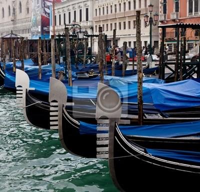 Fototapeta Gondolas.Venice.