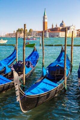 Fototapeta Gondole w Wenecji, Włochy