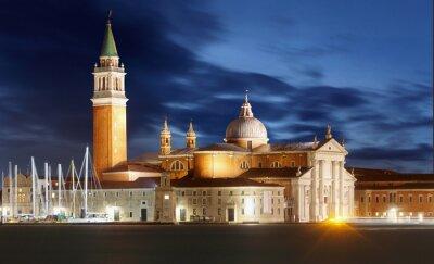 Fototapeta Gondole z widokiem na San Giorgio Maggiore, Wenecja, Włochy