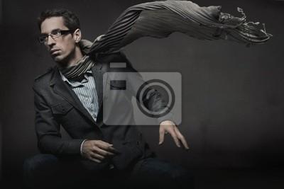 Gorgeous Zdjęcie Fashion eleganckiego mężczyzny