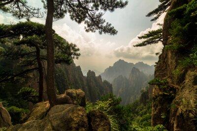 Fototapeta Góry Huangshan, Chiny
