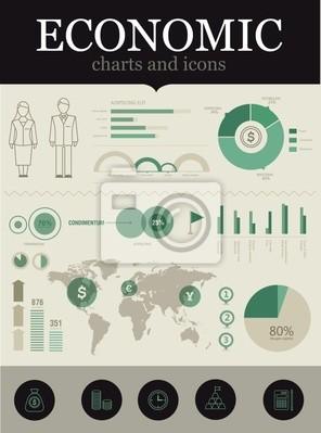 Gospodarczy infografika