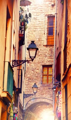 Fototapeta Gotyckiej w Barcelonie