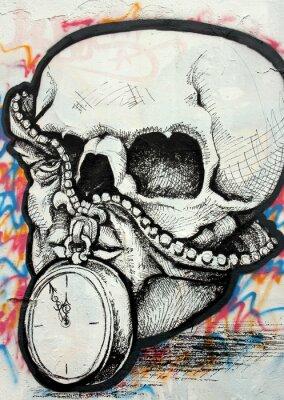 Fototapeta graffiti,
