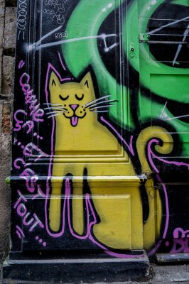 Fototapeta Graffiti czat