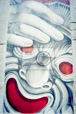 Fototapeta Graffiti Masque de Comédie