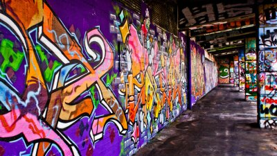 Fototapeta Graffiti Seks