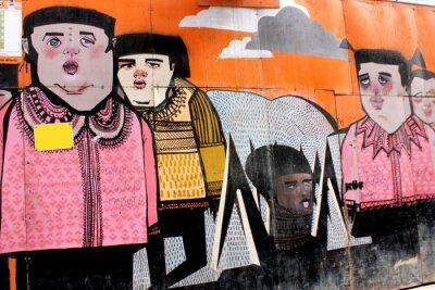 Fototapeta Graffiti w Stambule, Turcja