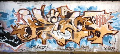 Fototapeta graffiti55
