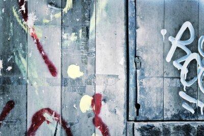 Fototapeta Graffity i metalu
