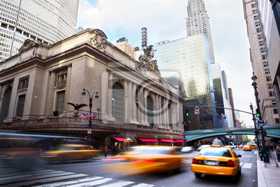 Fototapeta Grand Central Terminal w ruchu, New York City