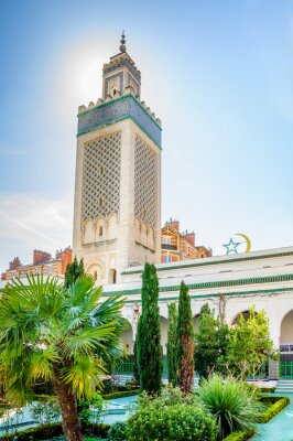 Fototapeta Grande mosquée de Paris