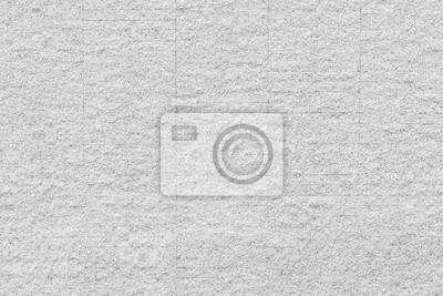 Fototapeta Granite rock stone tile wall background aged texture in white gray color