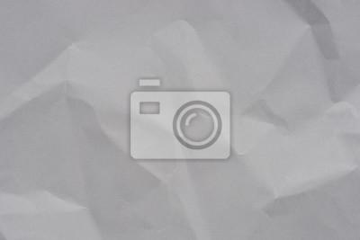 Fototapeta gray creased paper texture background
