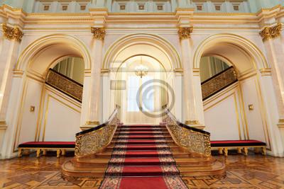 Fototapeta Great Kremlin Palace, mała sala Georgievsky