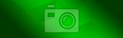 Fototapeta Green background for wide banner, design template