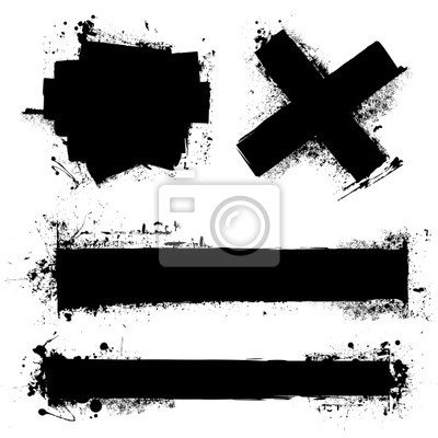 Fototapeta grunge ikona elementu