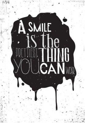 Fototapeta Grunge motivation poster