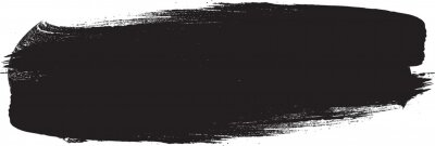 Fototapeta Grunge Paint stripe . Vector brush Stroke . Distressed banner . Black isolated paintbrush collection . Modern Textured shape . Dry border in Black
