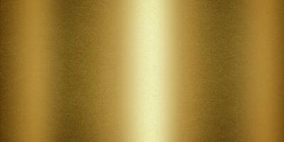 Fototapeta Grunge texture of gold metallic polished glossy with copy space, abstract background