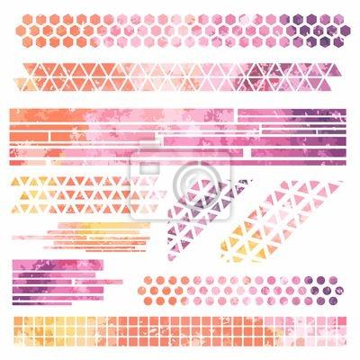 Grunge transparenty. Streszczenie kolorowe tło akwarela