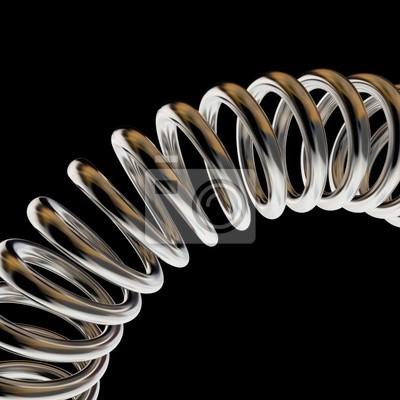 Fototapeta grzywny 3d obraz tle wiosny metalu