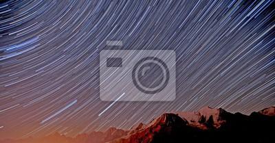 Gwiazdy Góry Chamonix