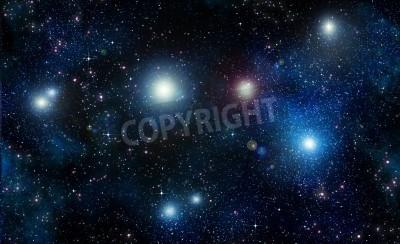 Fototapeta gwiazdy w przestrzeni lub nocnego nieba