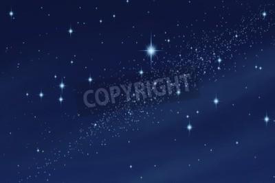 Fototapeta Gwiaździste niebo