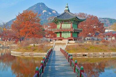 Fototapeta Gyeongbokgung Palace, Seul, Korea Południowa