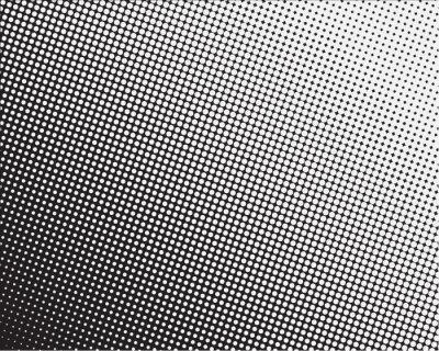 Fototapeta halftone dotted background