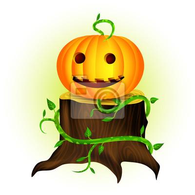 Halloween Dynia uśmiechnięta