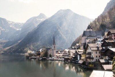 Fototapeta Hallstatt w Österreich