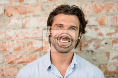 Fototapeta Handsome man portrait