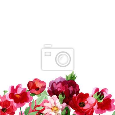 Handwrite Róże bukiet w akwareli techniki. Może być używany do tworzenia: tła, podobieństw, wzór, plakaty, karty.
