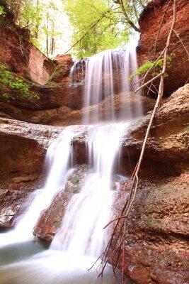 Fototapeta Hasenreuter Wasserfall