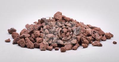 Fototapeta Heap of Natural rudy żelaza