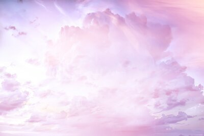 Fototapeta heavenly clouds background / abstract beautiful background of bright clouds in the sky