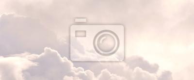 Fototapeta heavenly dreamy fluffy colorful fantasy clouds