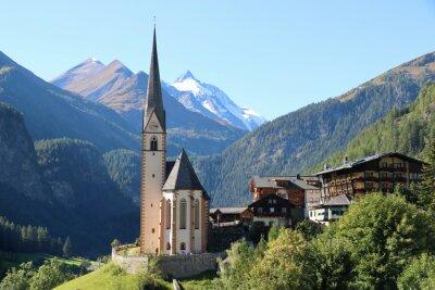 Fototapeta Heiligenblut am Großglockner, Österreich