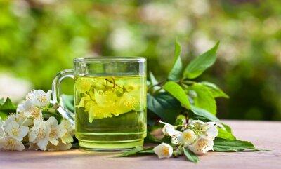 Fototapeta herbata jaśminowa