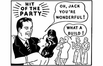 Fototapeta Hit Of The Party