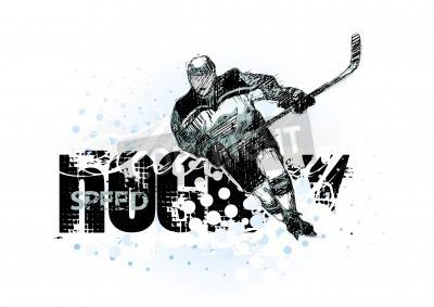 Fototapeta hokej na lodzie 2