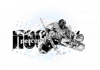 Fototapeta hokej na lodzie 3