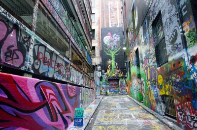 Fototapeta Hosier Lane  - Melbourne
