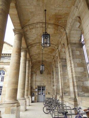 Fototapeta Hotel de Ville de Bordeaux